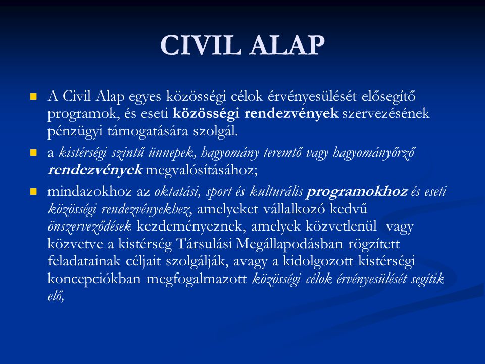 CIVIL ALAP