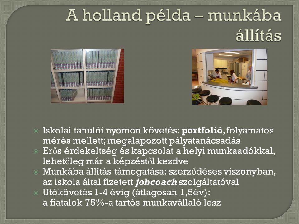 A holland példa – munkába állítás