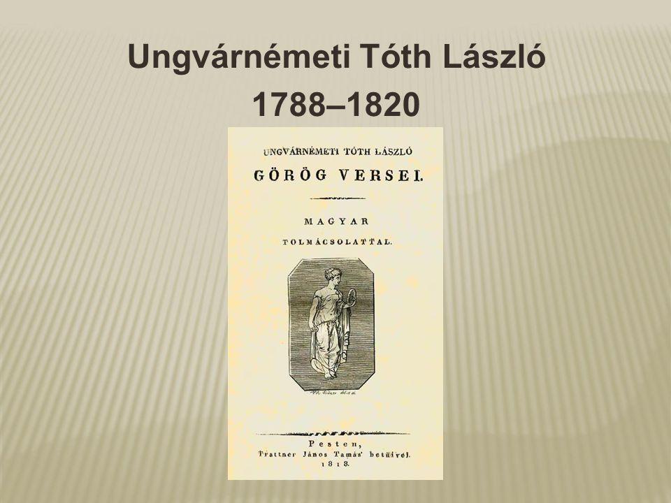 Ungvárnémeti Tóth László