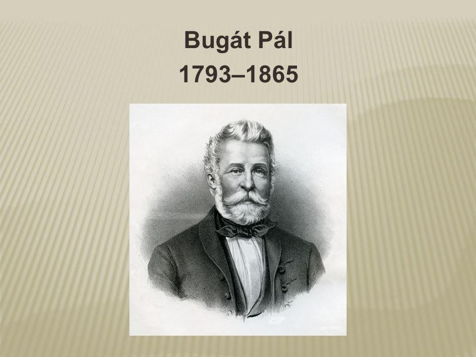 Bugát Pál 1793–1865