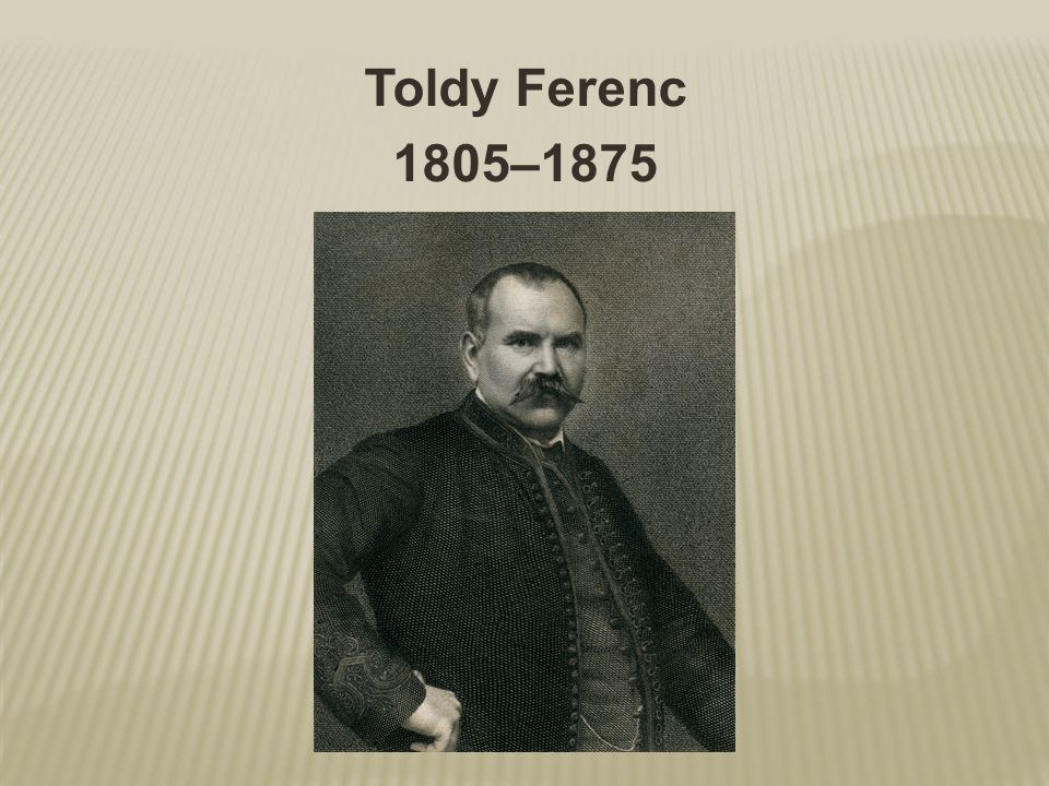 Toldy Ferenc 1805–1875