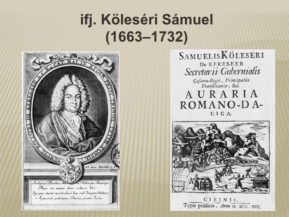 ifj. Köleséri Sámuel (1663–1732)