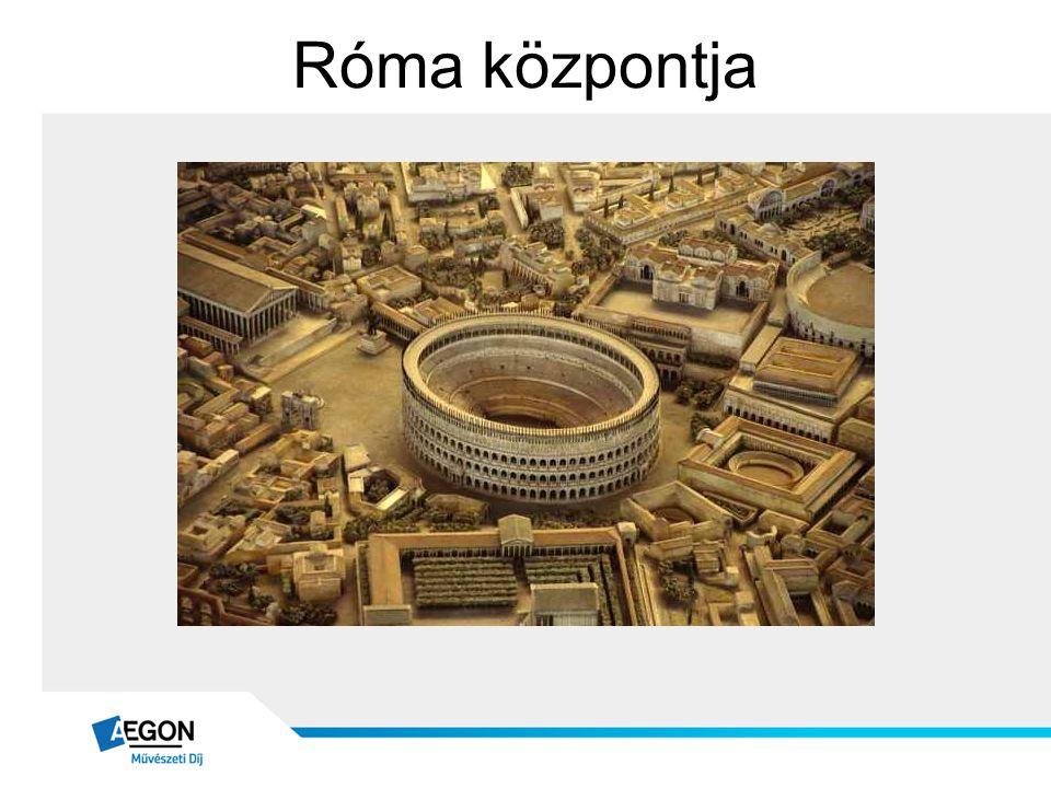Róma központja