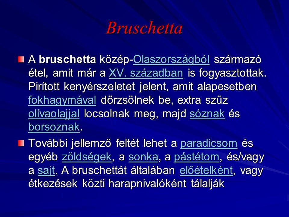 Bruschetta