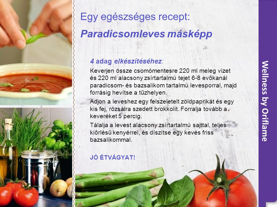 Egy egészséges recept: Paradicsomleves másképp