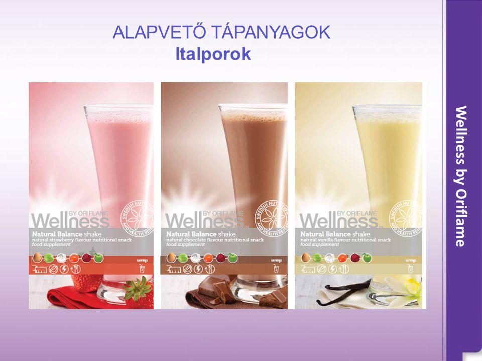 Italporok ALAPVETŐ TÁPANYAGOK Wellness by Oriflame