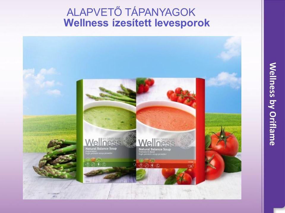 Wellness ízesített levesporok