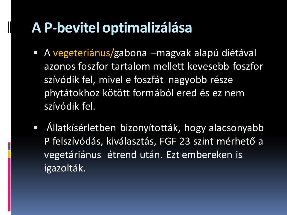 A P-bevitel optimalizálása