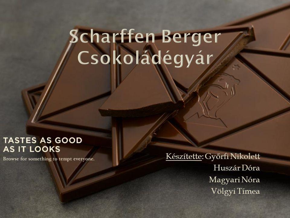 Scharffen Berger Csokoládégyár