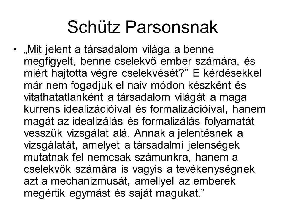 Schütz Parsonsnak