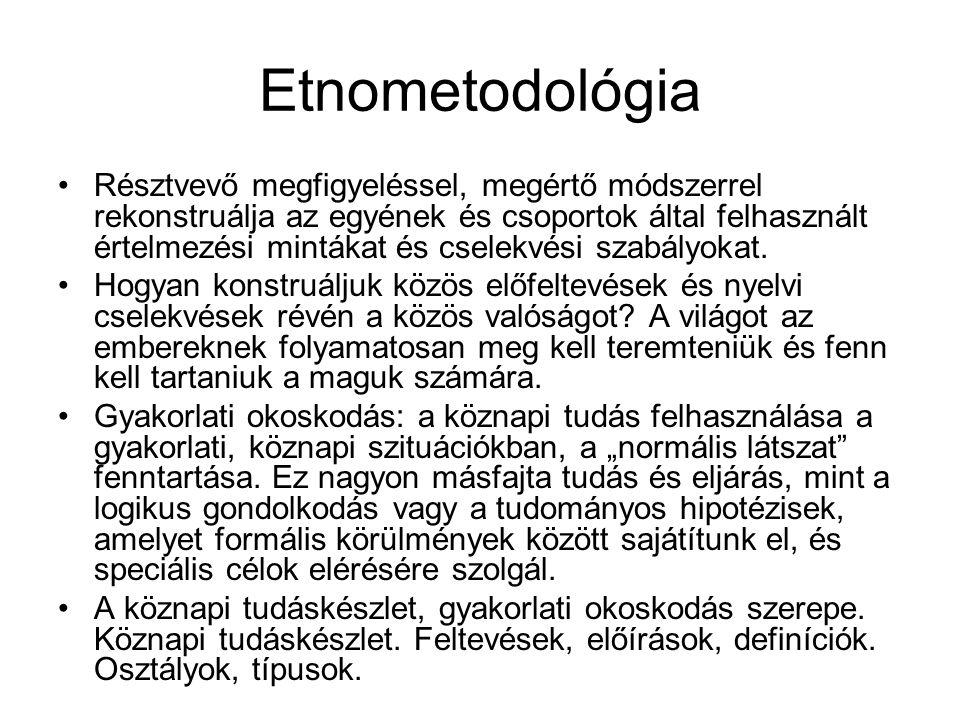 Etnometodológia