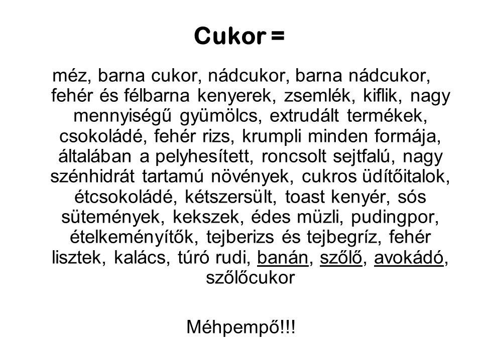 Cukor =