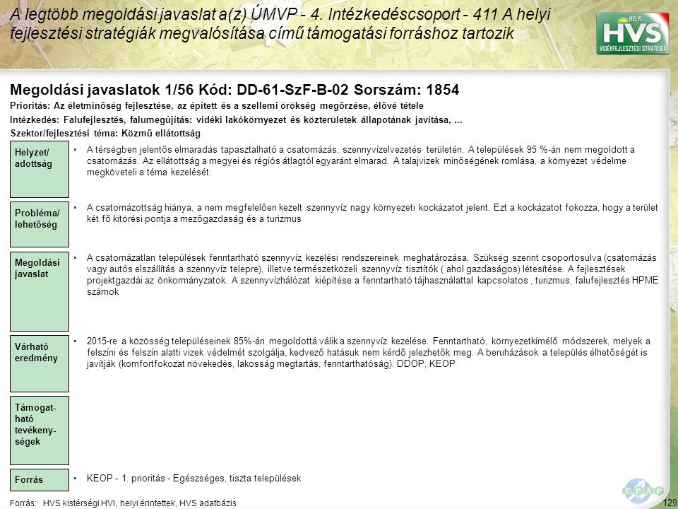 Megoldási javaslatok 1/56 Kód: DD-61-SzF-B-02 Sorszám: 1854