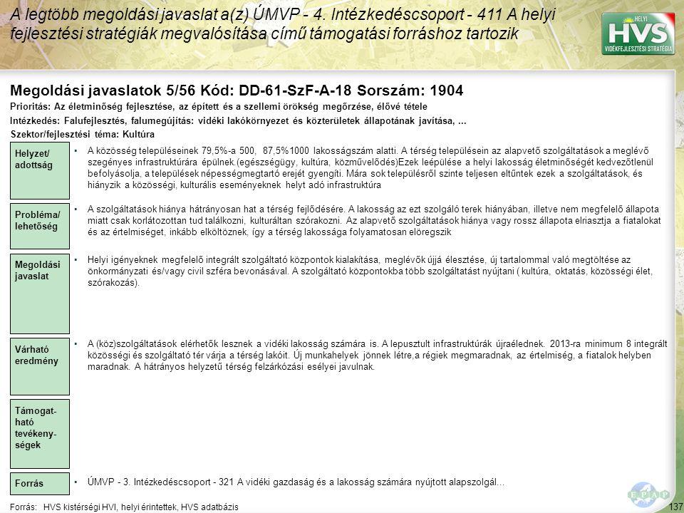 Megoldási javaslatok 5/56 Kód: DD-61-SzF-A-18 Sorszám: 1904