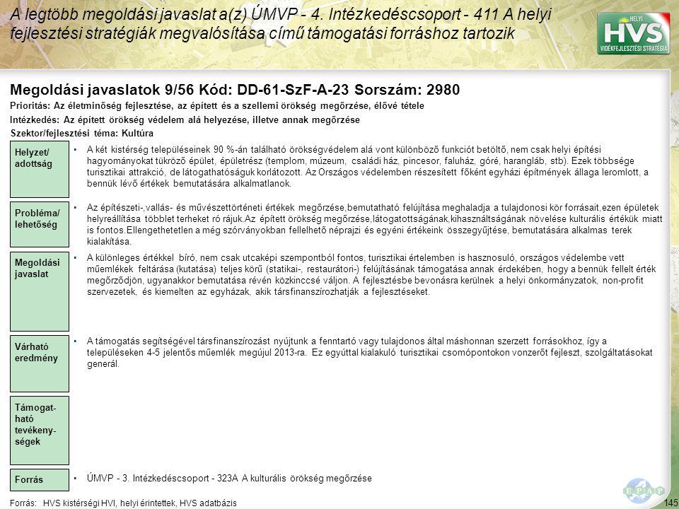 Megoldási javaslatok 9/56 Kód: DD-61-SzF-A-23 Sorszám: 2980