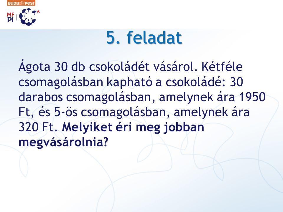 5. feladat