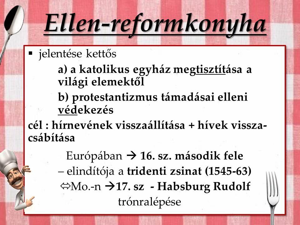 Ellen-reformkonyha jelentése kettős
