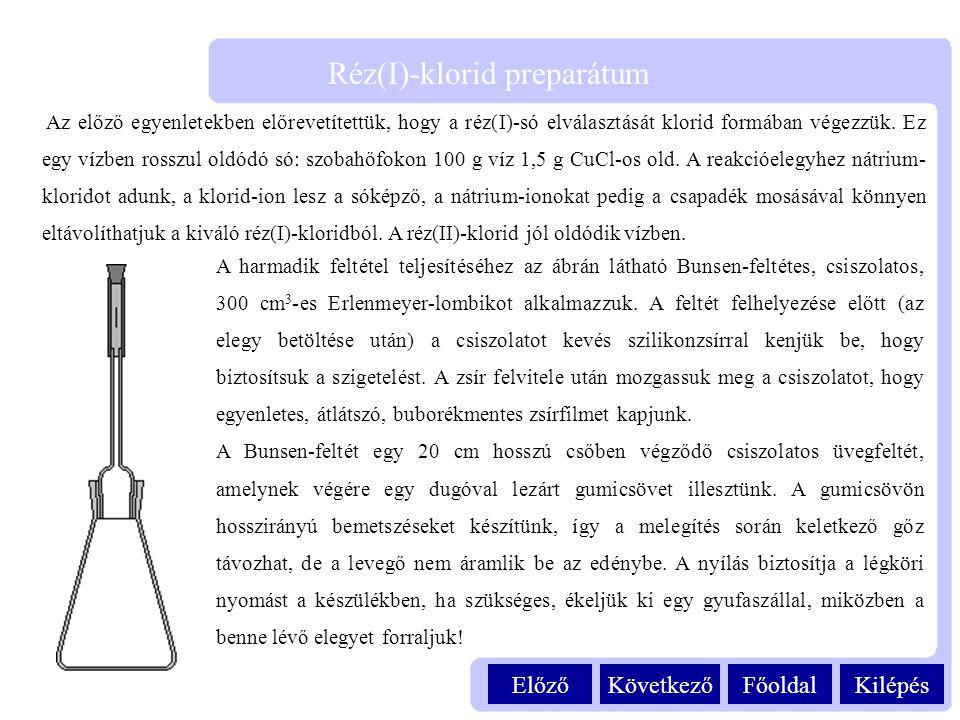 Réz(I)-klorid preparátum