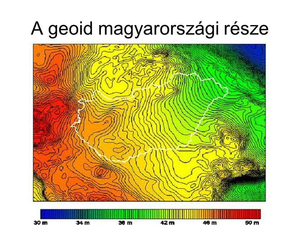 A geoid magyarországi része