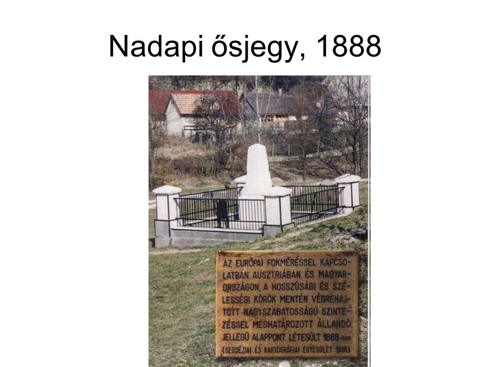 Nadapi ősjegy, 1888