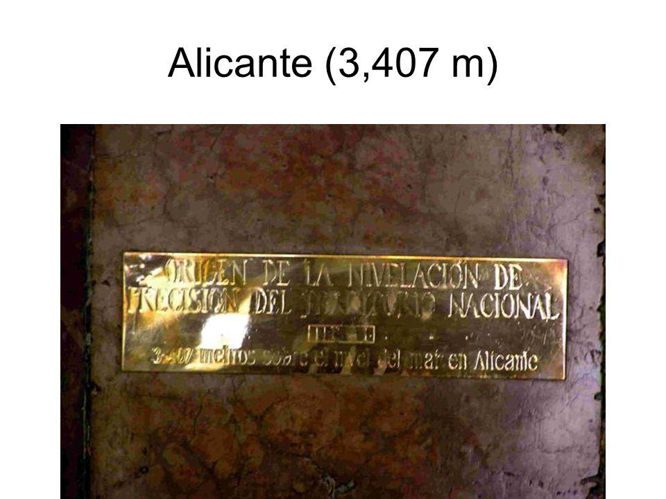 Alicante (3,407 m)