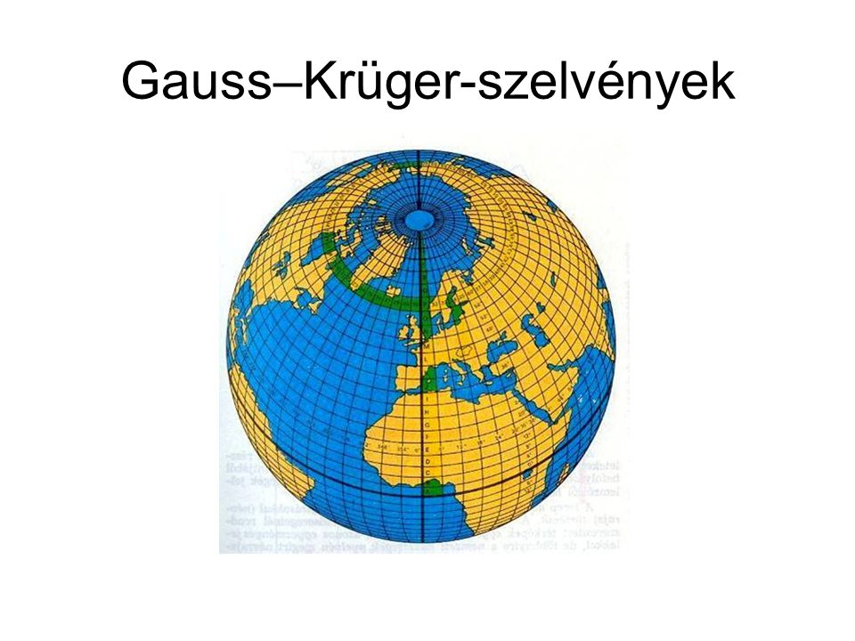 Gauss–Krüger-szelvények