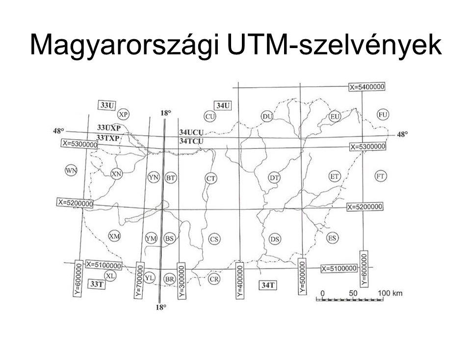 Magyarországi UTM-szelvények
