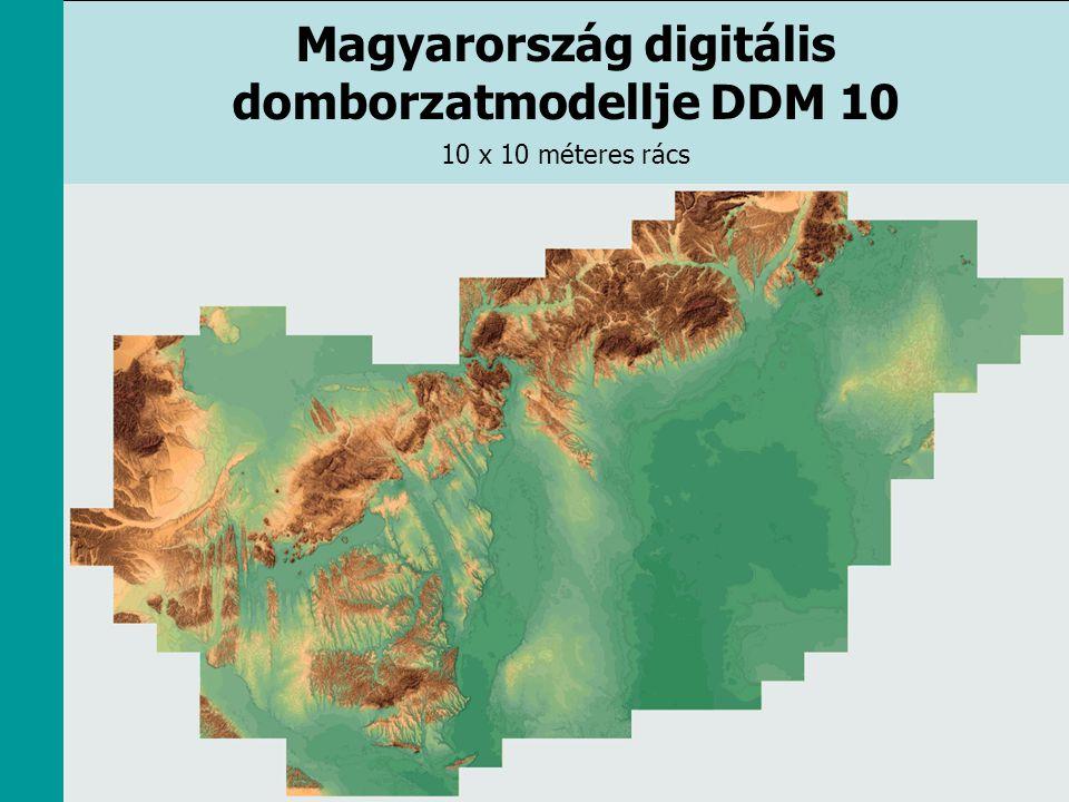 Magyarország digitális domborzatmodellje DDM 10