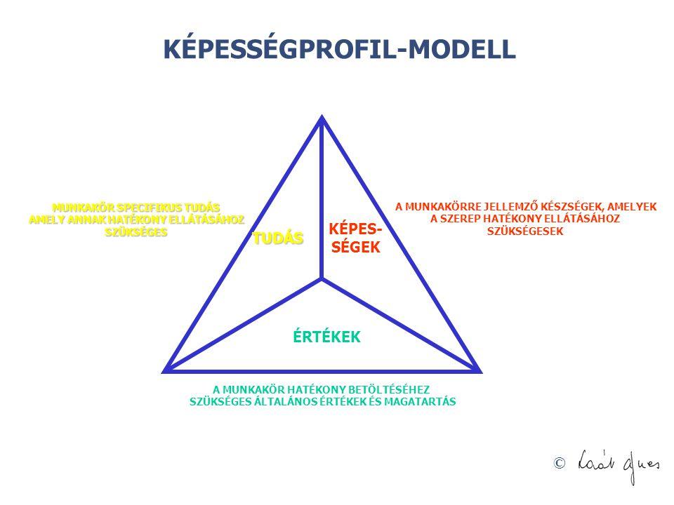 KÉPESSÉGPROFIL-MODELL