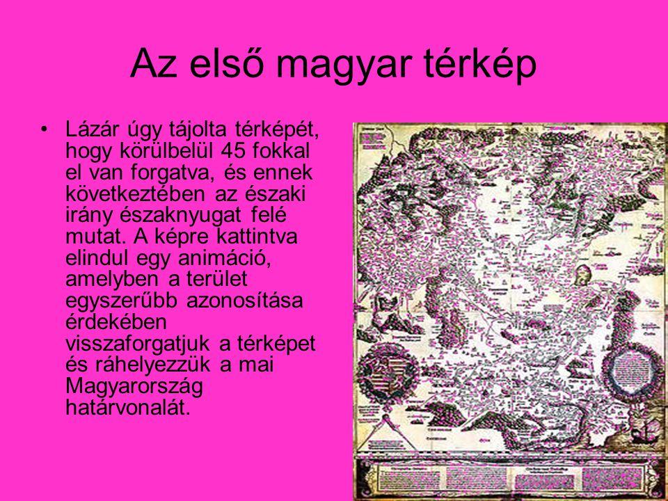 Az első magyar térkép