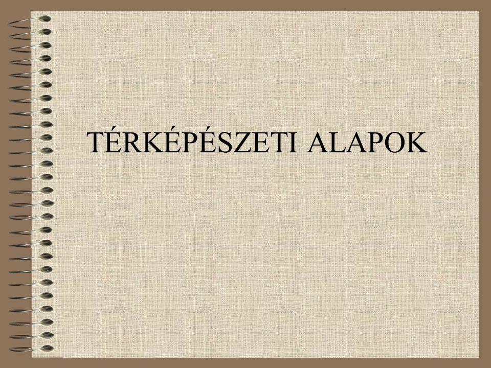 TÉRKÉPÉSZETI ALAPOK