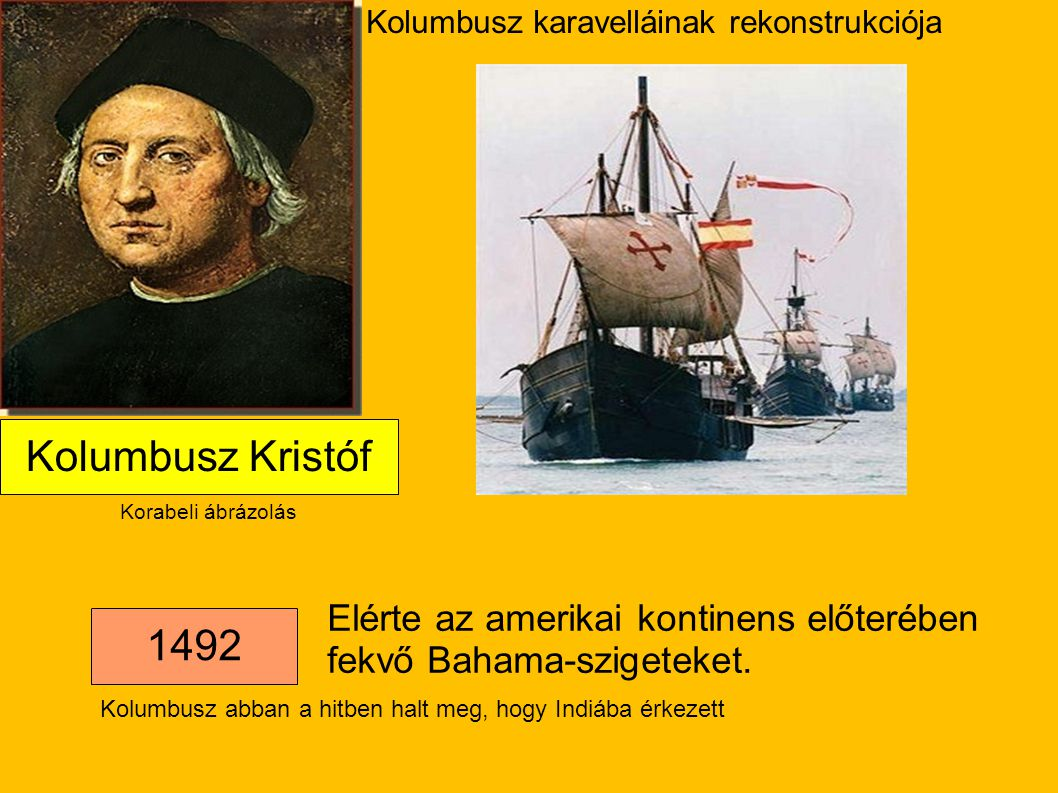 Kolumbusz karavelláinak rekonstrukciója