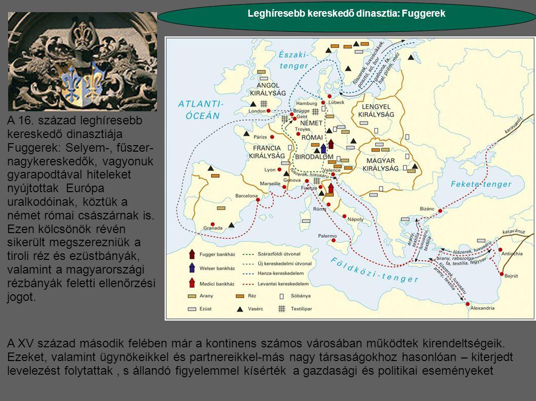 Leghíresebb kereskedő dinasztia: Fuggerek