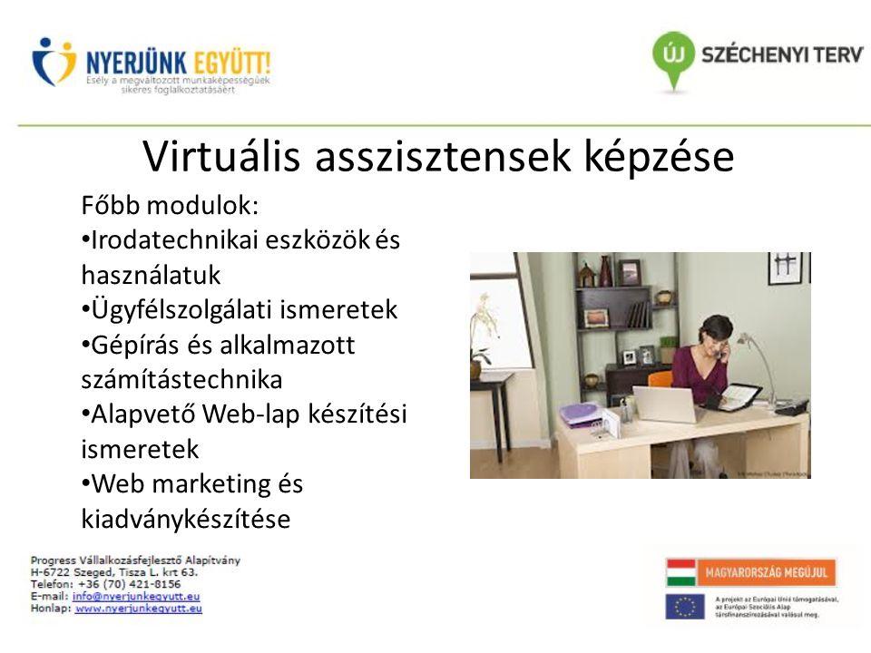 Virtuális asszisztensek képzése