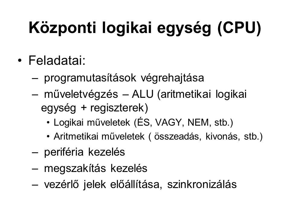 Központi logikai egység (CPU)