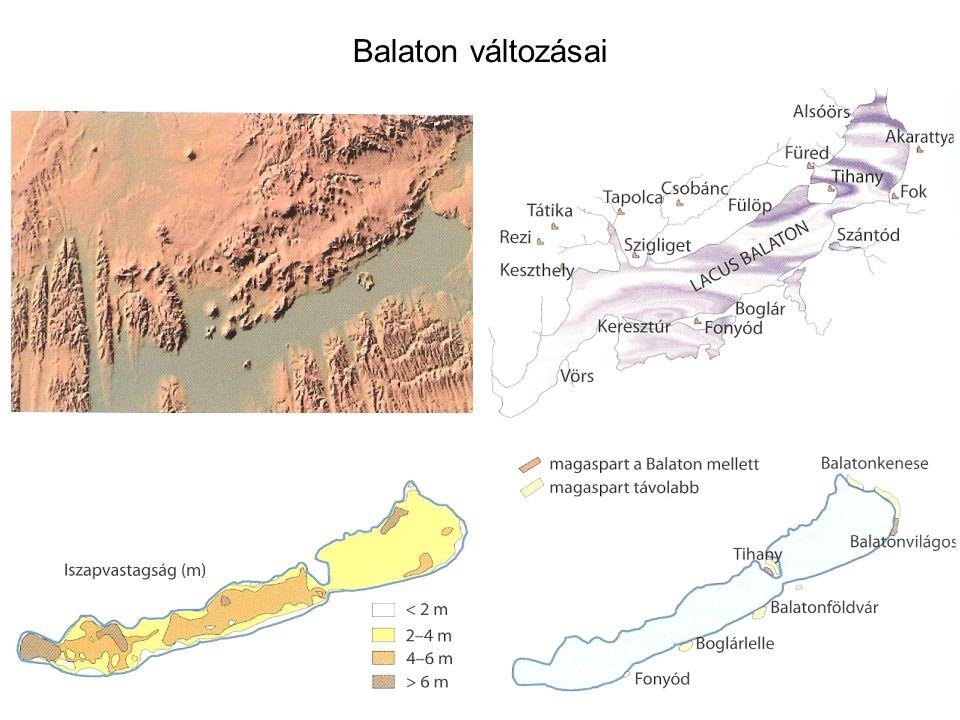 Balaton változásai