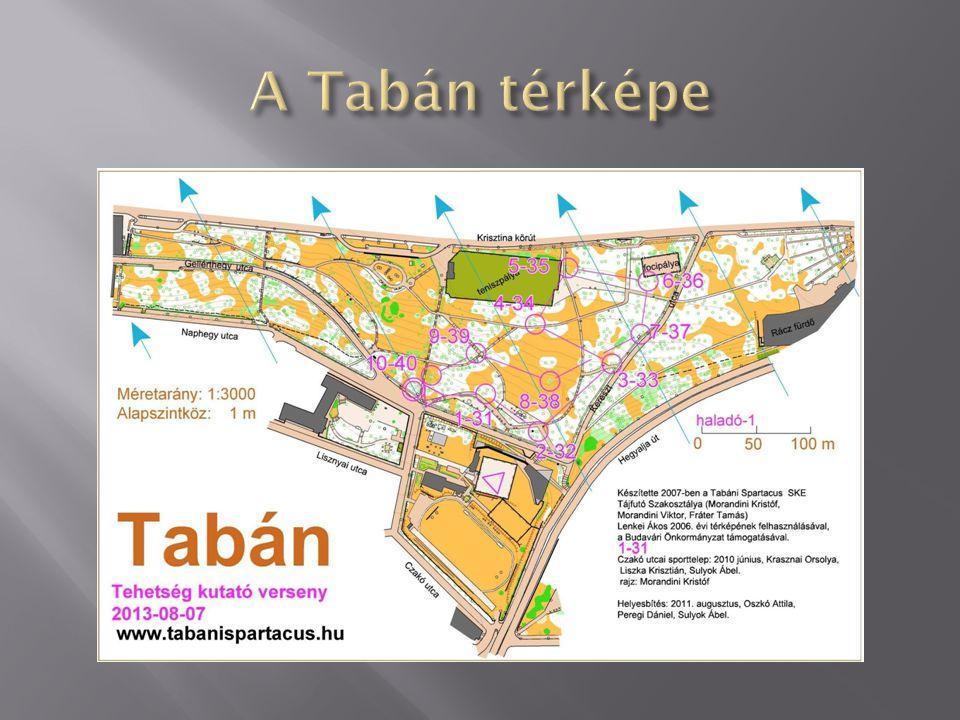 A Tabán térképe