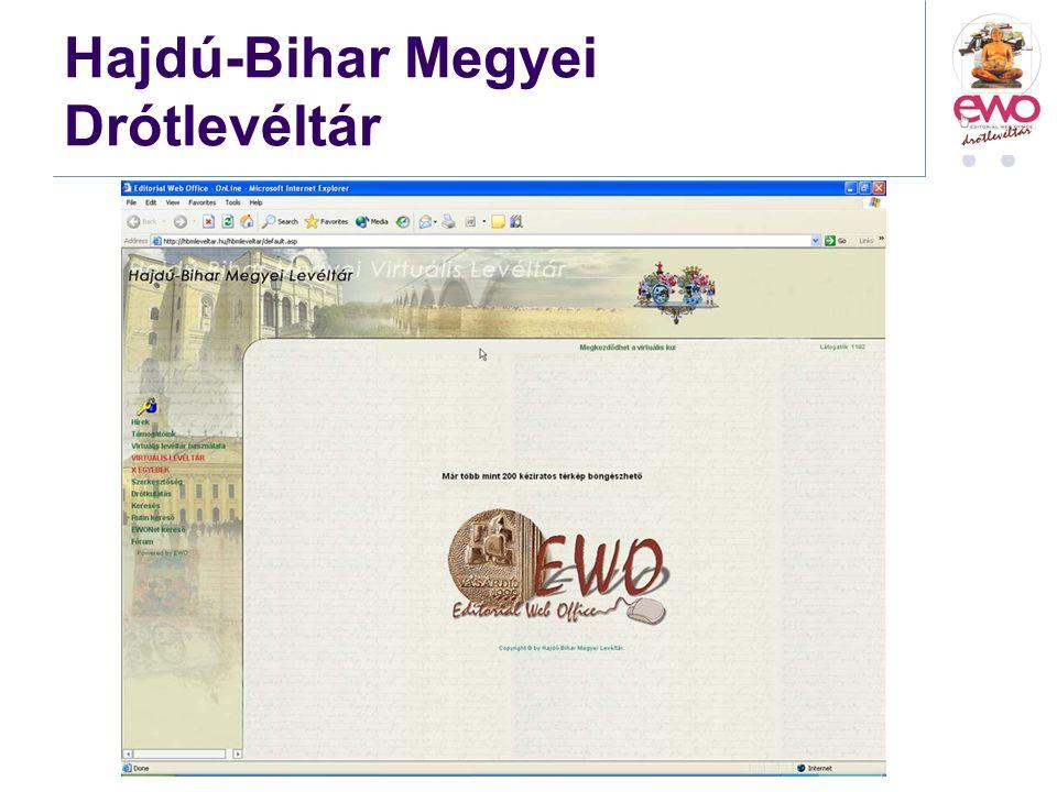 Hajdú-Bihar Megyei Drótlevéltár