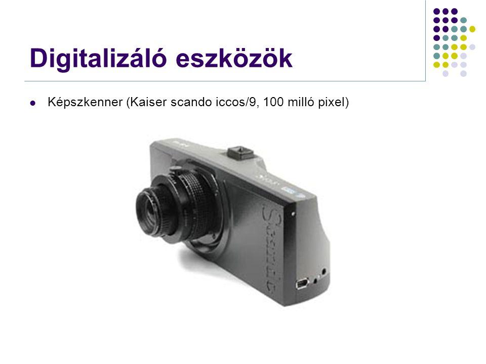 Digitalizáló eszközök