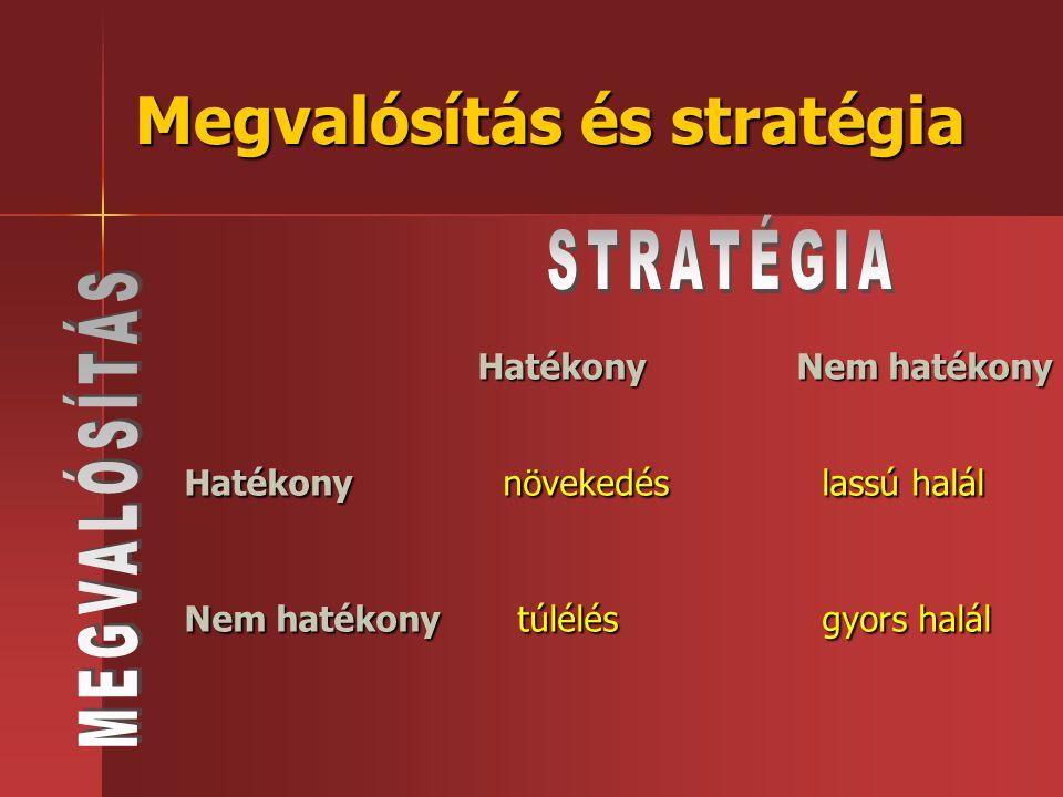 Megvalósítás és stratégia