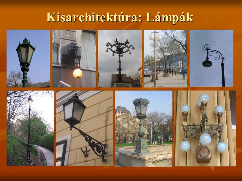 Kisarchitektúra: Lámpák