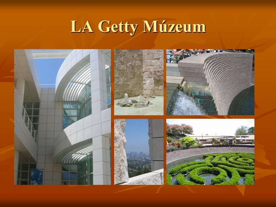 LA Getty Múzeum
