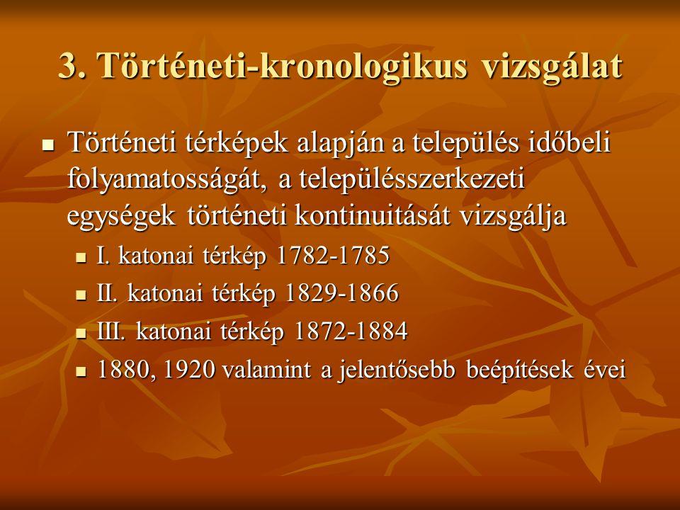 3. Történeti-kronologikus vizsgálat