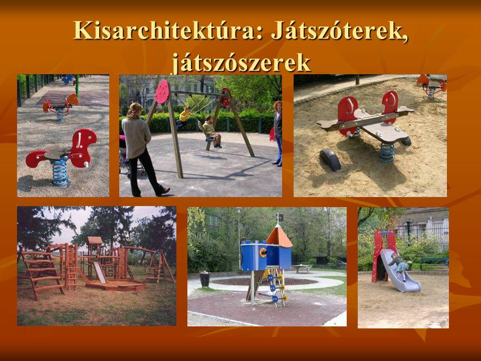 Kisarchitektúra: Játszóterek, játszószerek
