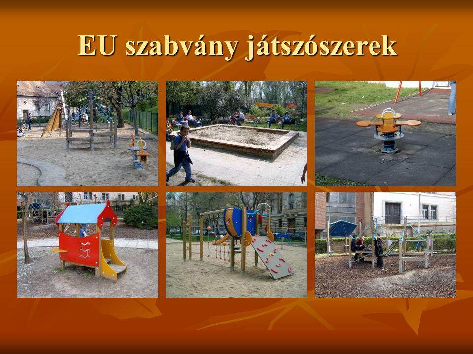 EU szabvány játszószerek