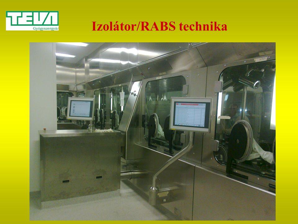 Izolátor/RABS technika