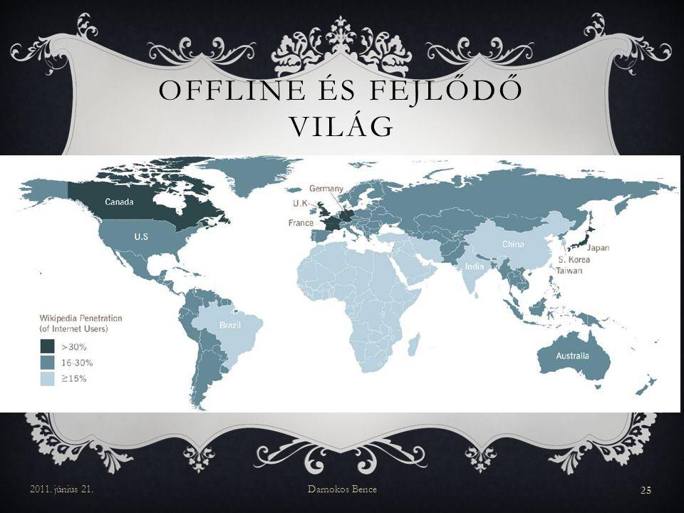 Offline és fejlődő világ