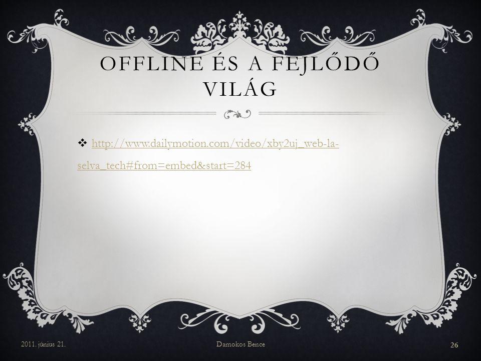 Offline és a Fejlődő világ