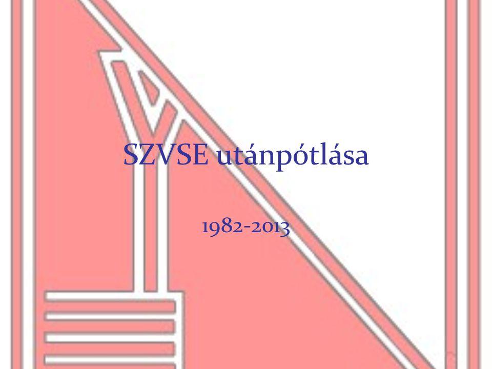 SZVSE utánpótlása 1982-2013