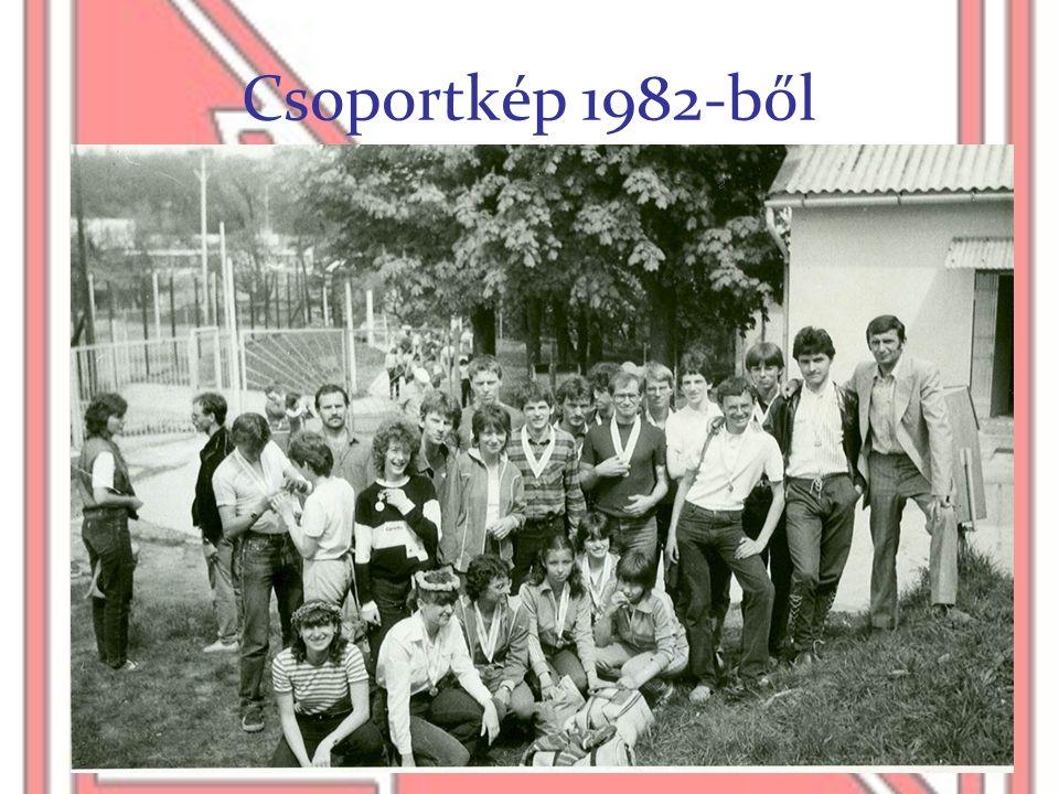 Csoportkép 1982-ből
